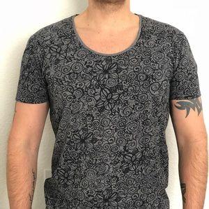 NEW!!! Scotch & Soda Men floral tee-shirt